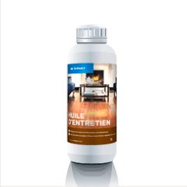 Bidon d'un litre d'huile pour parquet premium Dr. Schutz